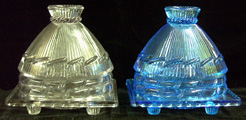 Bee Hive butter dishes