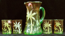 Palm Tree water set