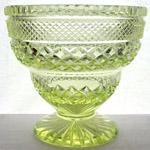 REGENCY cut glass bowl